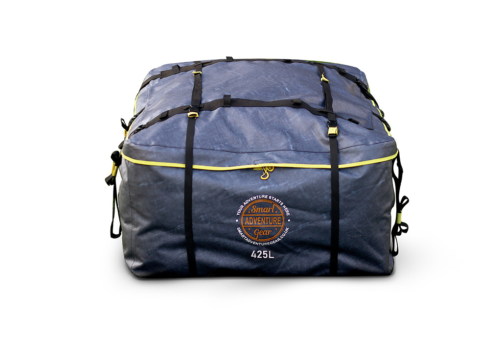 Compact Travel Gear Car Roof Bag 425l Waterproof No Rack
