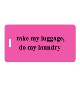 luggage tag funny