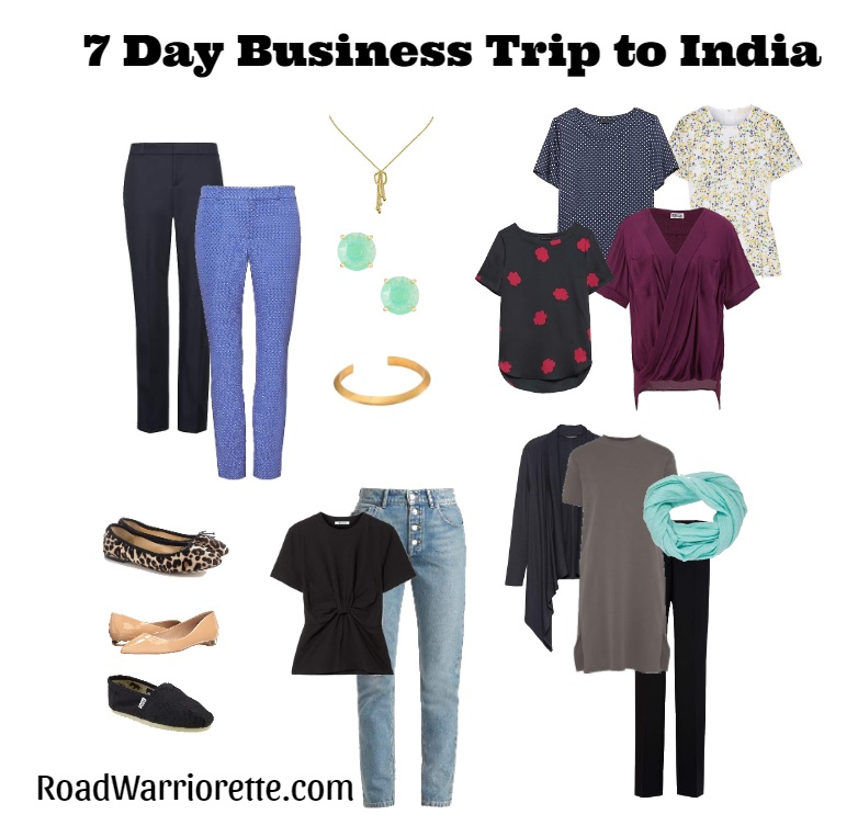 Packing List-7 day business trip to India - Road Warriorette