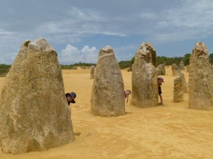 The Classic Shot of the Pinnacles + Kids.