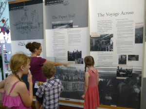 History of the Area Showcased.