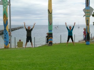High on Life at Streaky Bay, South Australia.