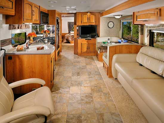 Seats N Sofa 2012 Coachmen Mirada Class A Motorhome | Roaming Times