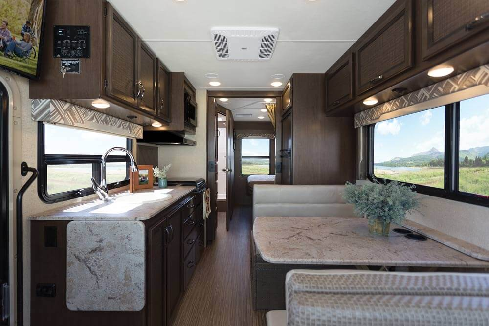Bathroom Lights Thor 2017 Ruv Motorhome Substantial Upgrades | Roaming Times