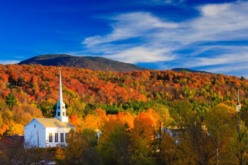 New Hampshire Fall Foliage Wallpaper The Best Places To Travel To See Fall Foliage