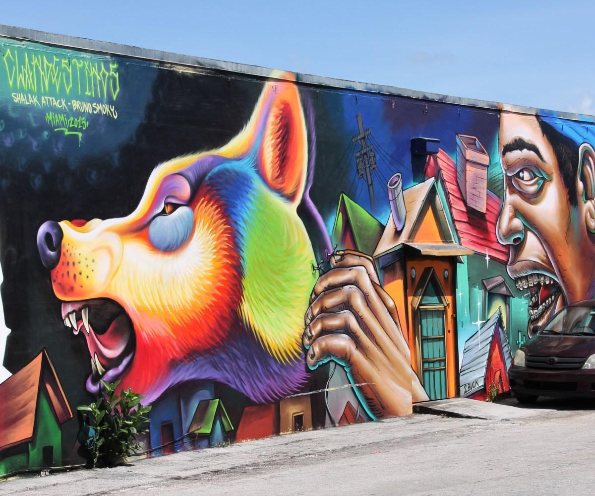Street Art with a Story in Wynwood Miami
