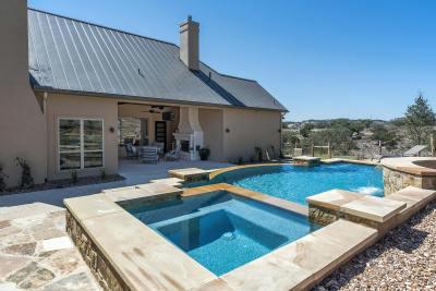Rear Elevations - Custom Home Builder San Antonio - Robare Custom Homes