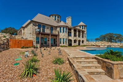 Rear Elevations - Custom Home Builder San Antonio - Robare Custom Homes