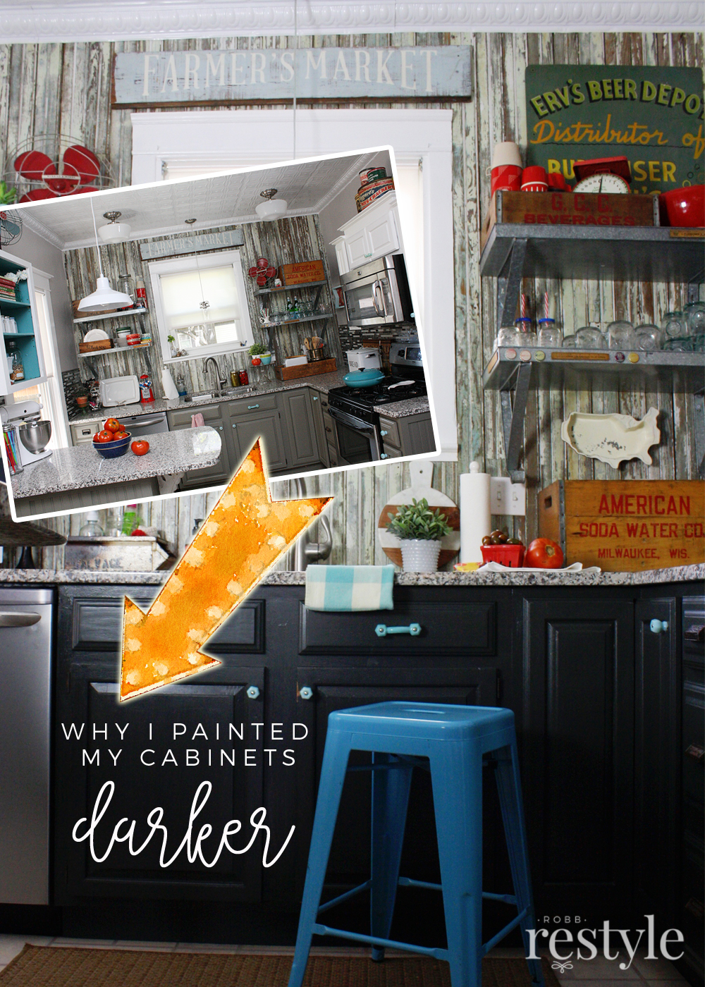 Paint My Kitchen Cabinets Why I Painted My Kitchen Cabinets Again Robb Restyle