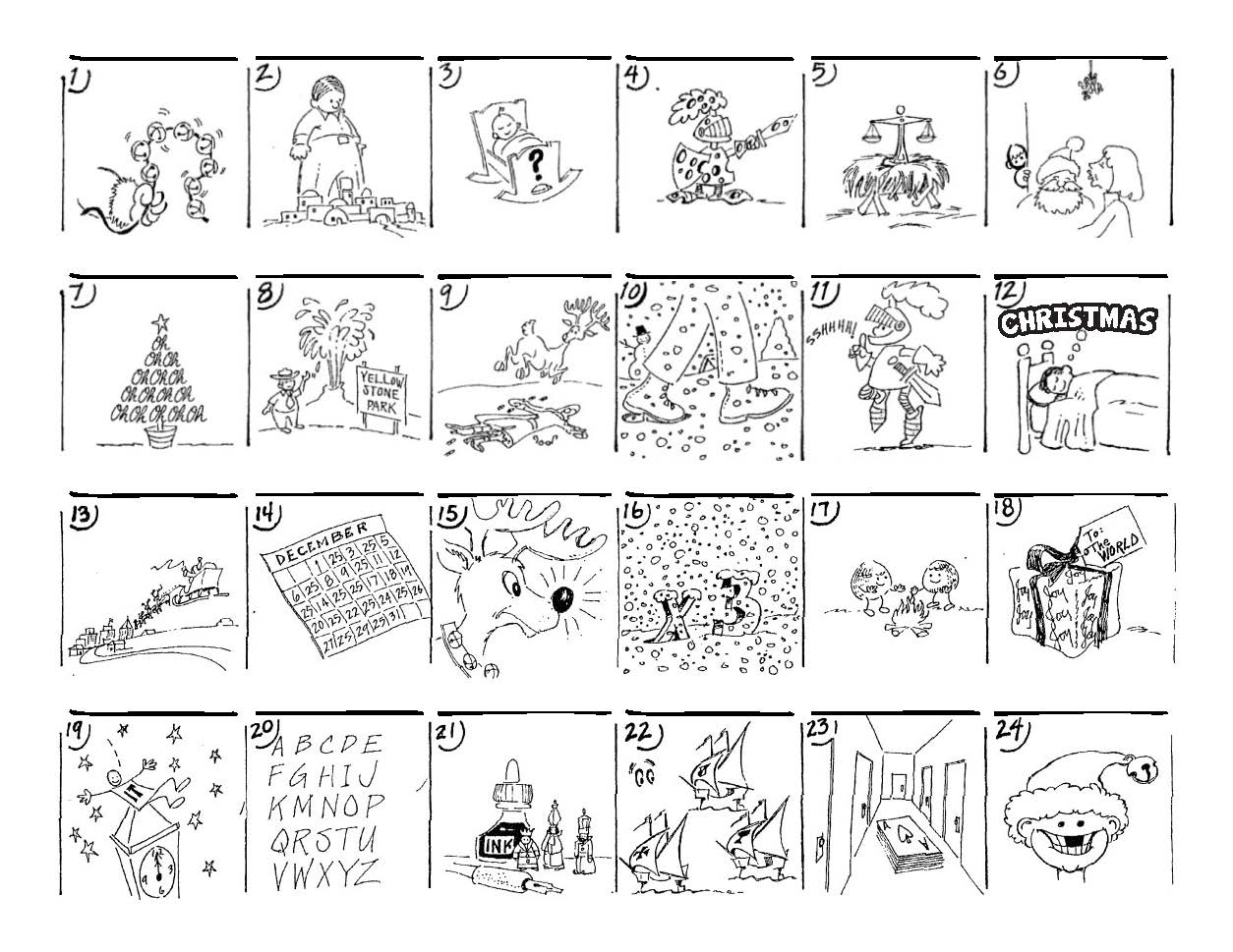 Agreeable Brain Games Printable Worksheets Also Christmas ...