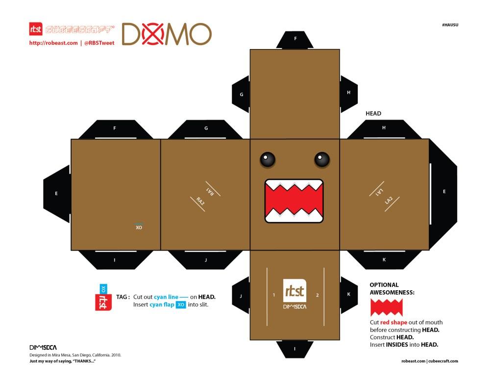 RBST x Hausu x Cubeecraft DOMO (1/3)
