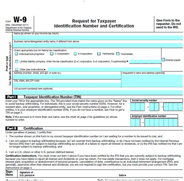 Blank W 9 Form Ohio | Using To Whom It May Concern Cover Letter