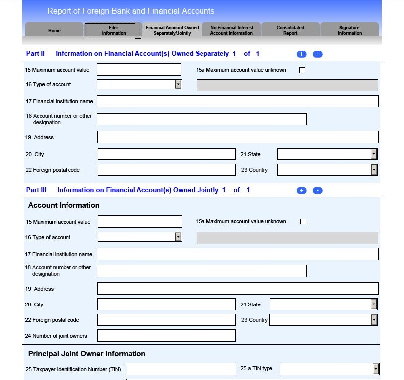 FBAR robergtaxsolutions - bank account forms