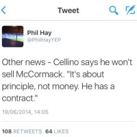 "Cellino Confirms Cook Departure With ""Not For Sale"" Claim   -   by Rob Atkinson"