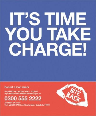 Anti Loan Shark Campaign | Robert Dearden