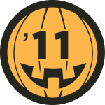 halloween badge foursquare