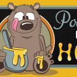 poohs corner honey banner