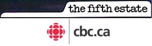 CBC-TV. Logo for 'the fifth estate""
