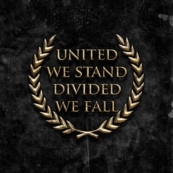 Feeling Alone Wallpaper With Quotes United We Stand Divided We Fall Whistling In The Wind