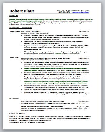 intelligence resume 04052017