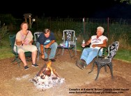 Campfire at Roberts' Roost