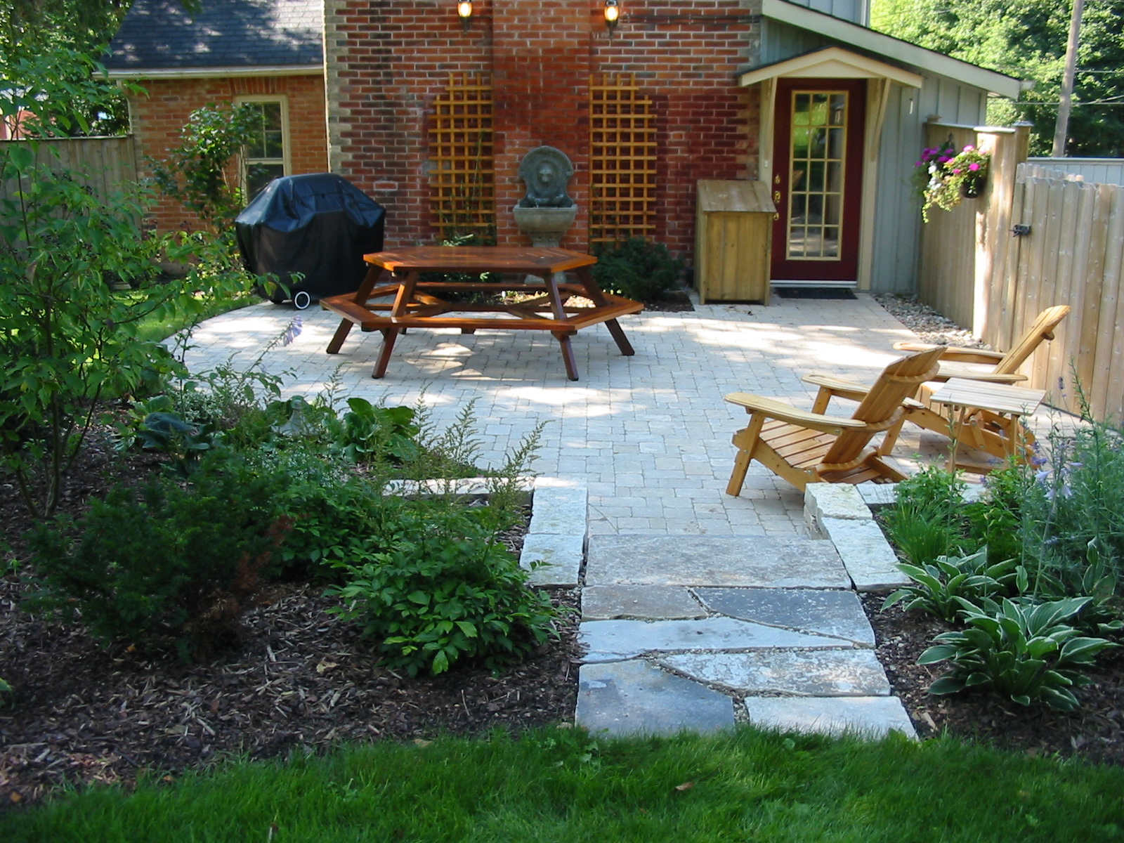 Backyard Patios Pictures Patios Design Patio Walkway Cobble Stone Robin Aggus