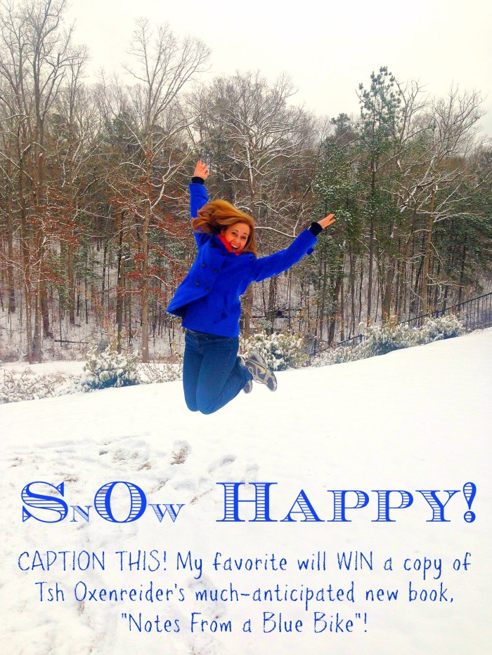 Snow Happy - Jumping in Snow