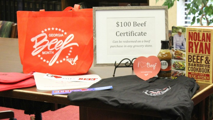 Georgia Beef Board Giveaway May 2015