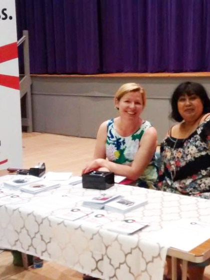 Robin & Jess at South Downs Poetry Festival