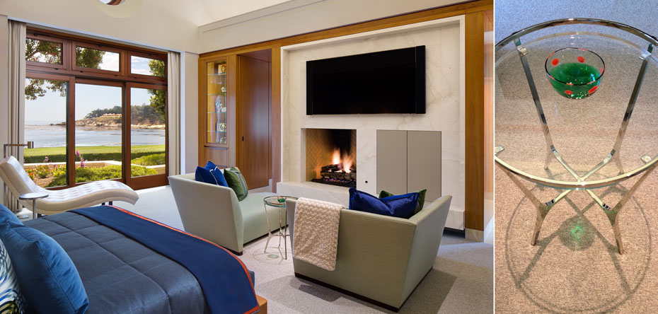 Interior Design Firms San Diego Residential: Private Residence, Monterey Peninsula, Ca