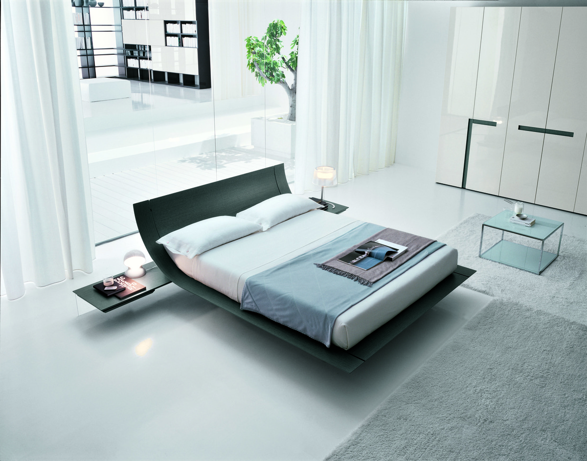 Presotto Aqua Bed Italian Designer Bed Led Lights Robinsons Beds