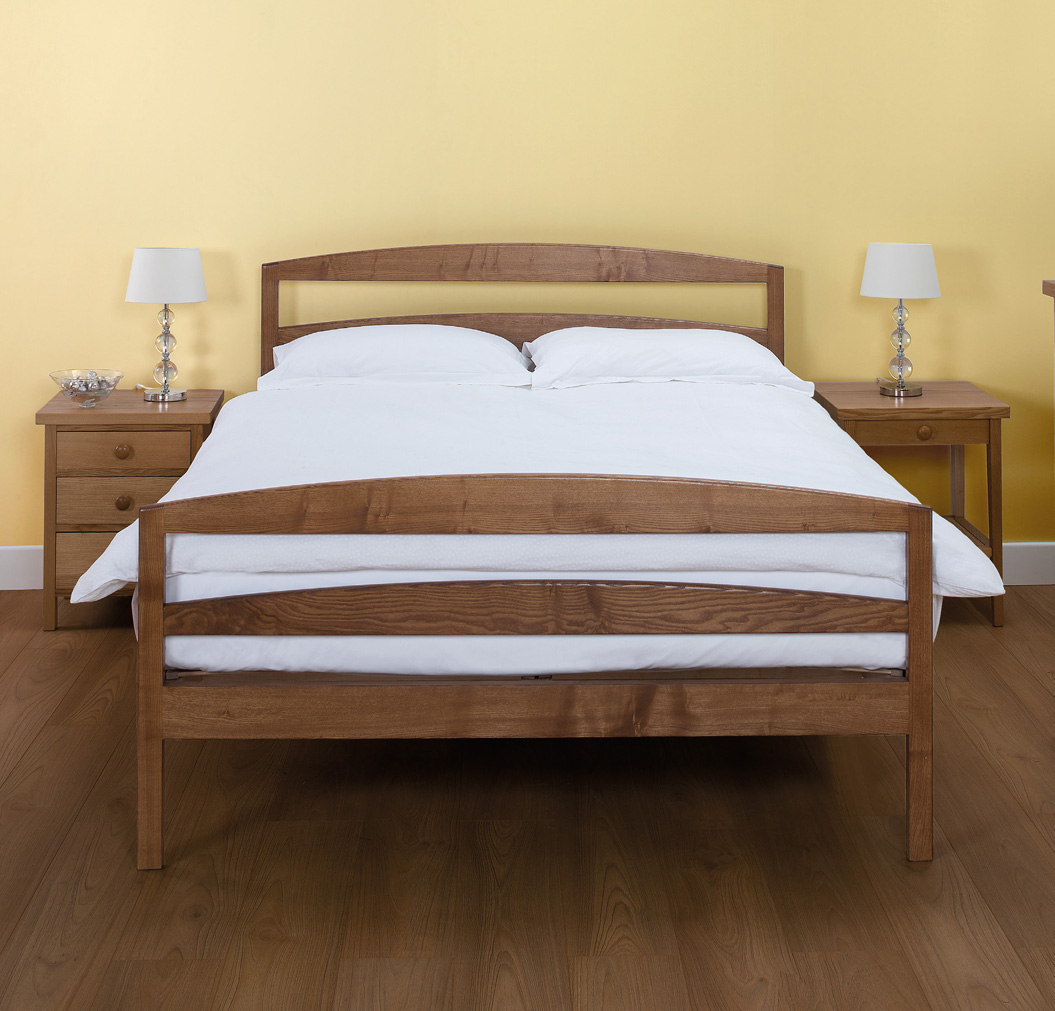 Wooden Beds Cotswold Caners Chatsworth Slatted Wooden Bed