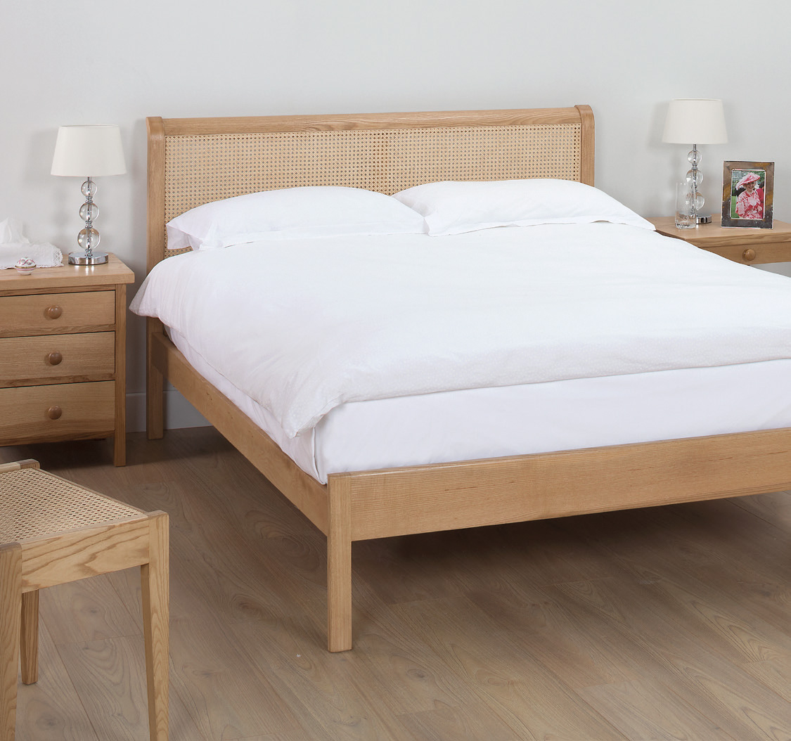 Very Low Bed Henley Rattan Cane Bed Robinsons Beds