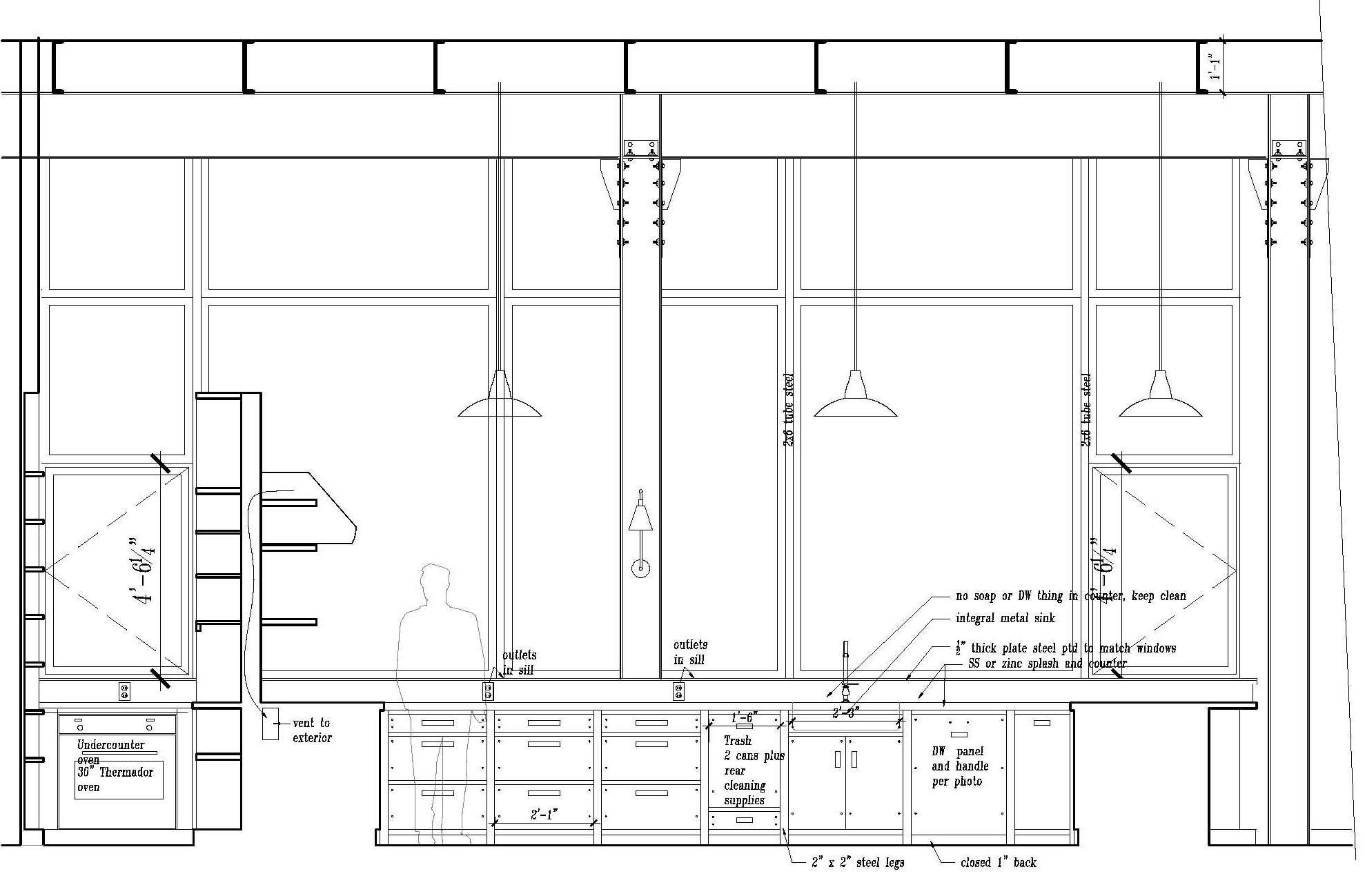 Kitchen Design Details cabinet section detail drawings kitchen cabinet section drawing jpg