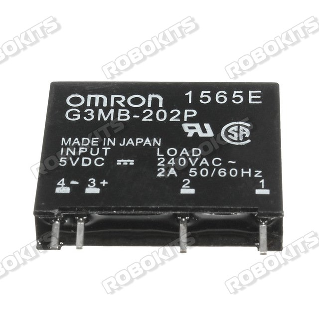 Solid State Relay Omron G3MB-202P 5VDC In, 240VAC 2A Out RKI-2505