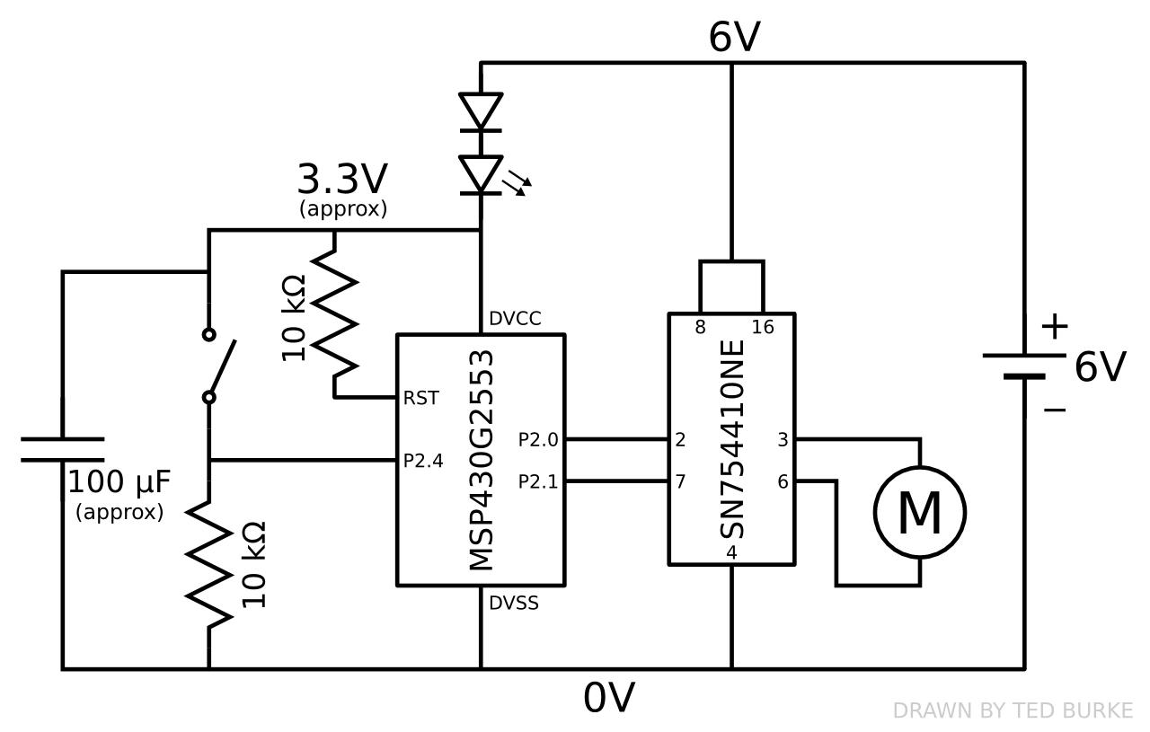 example colour sensor circuit robosumo cookbook