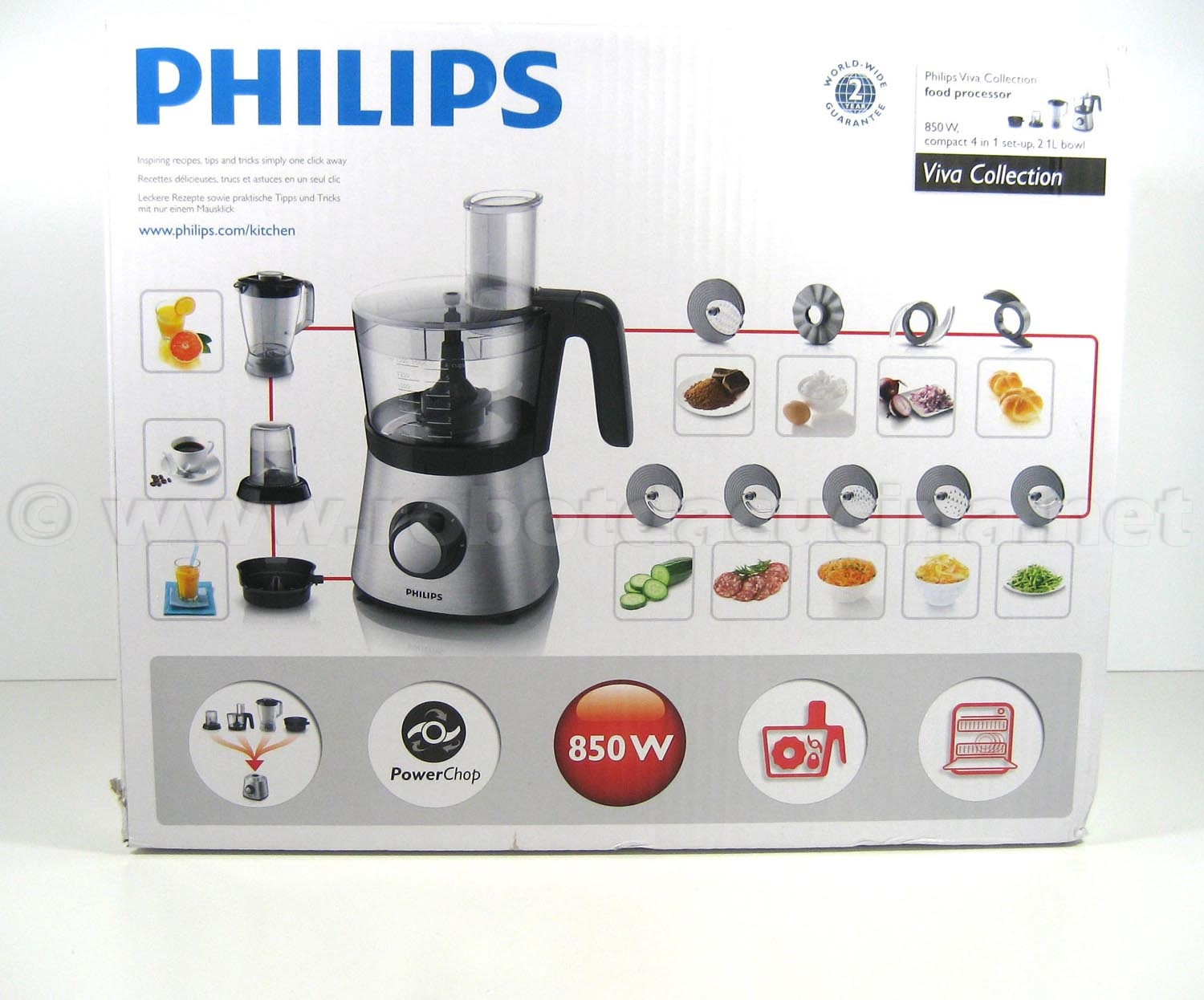 Robot Da Cucina Philips Come Si Usa Philips Hr7769 00 Viva Collection Il Parere Degli Esperti