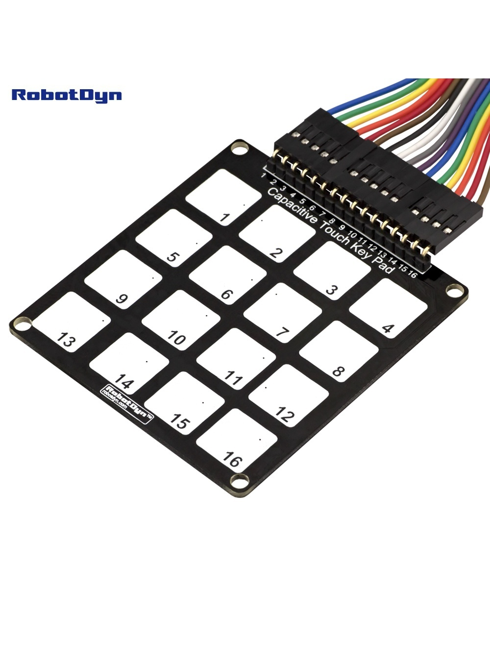 Capacitive Touch Key Pad 16 Keys Robotdyn