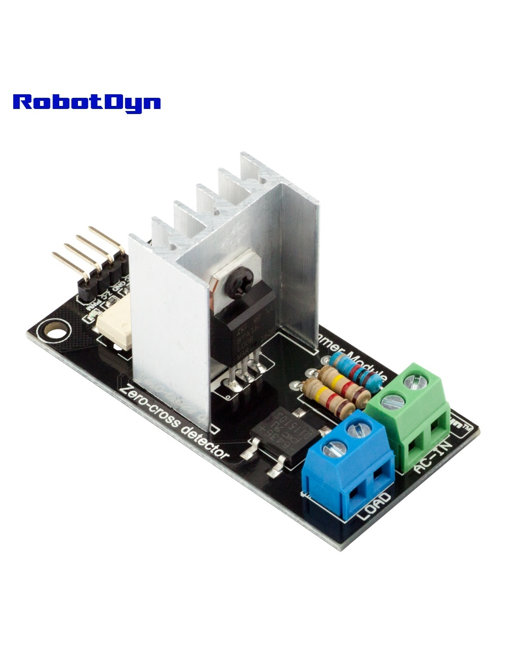 Ac Light Dimmer Module 1 Channel 3 3v 5v Logic Ac 50 60hz 220v 110v Robotdyn