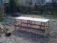 How To Make An Outdoor Table Out Of An Old Door