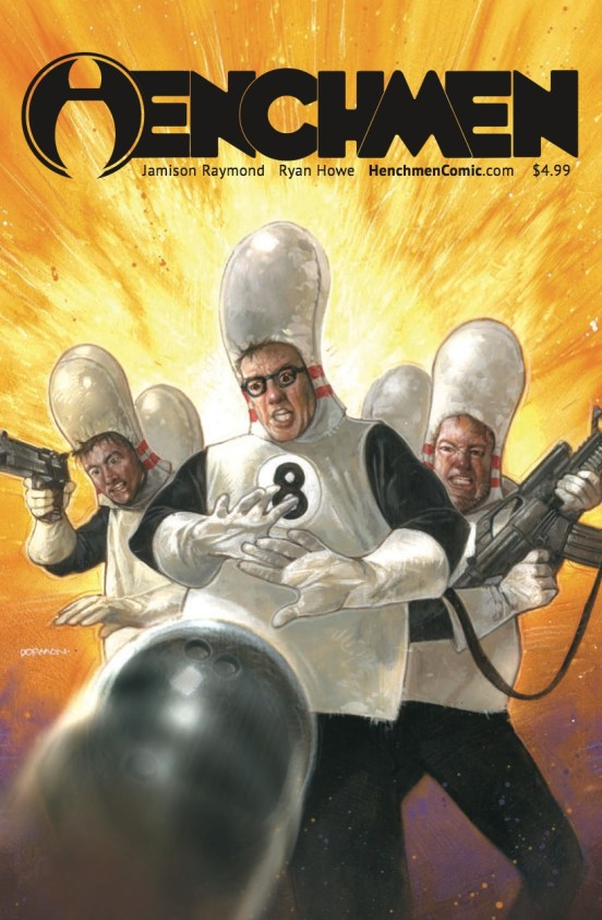 Dave Dorman Henchmen Cover