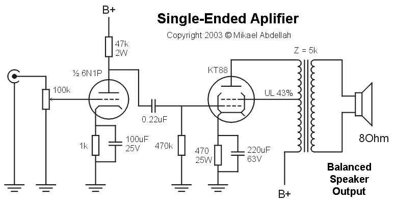 circuit 1 singleended driver