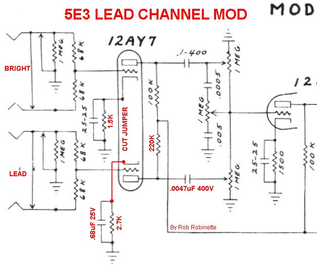 wiring schematic fender lead 1