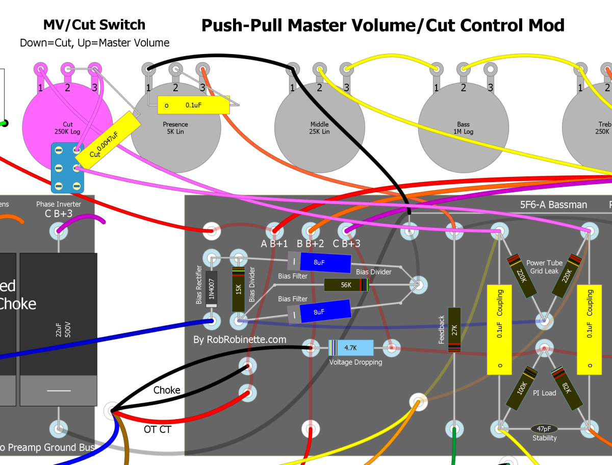 Eric Clapton Mid Boost Auto Electrical Wiring Diagram B Push Pull Guitar Fender Tbx Tone Control No