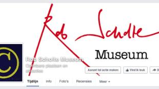 Rob Scholte Museum op Facebook
