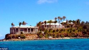 Epstein's private island, Little St. James (foto Chris Bott/Splash)