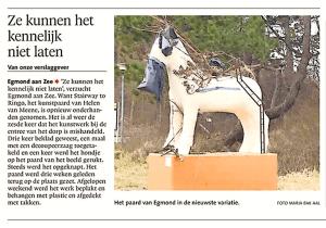 Alkmaarse Courant, 12 maart 2018