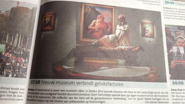 Nieuw museum verbindt geluks factoren (Loes Vermeer-Lagerveld)
