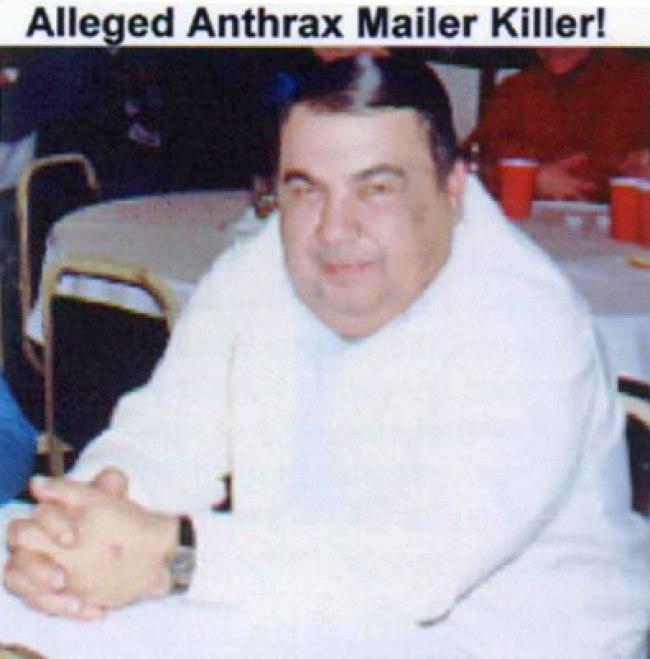 Alleged Anthrax Mailer Killer