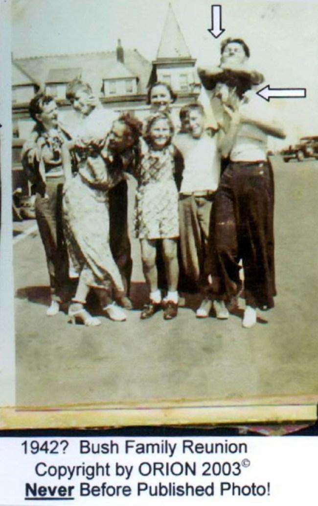 Bush family reunion (foto Orion)